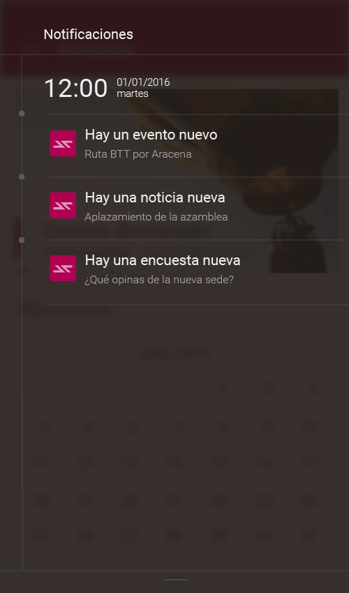 Notificaciones Communy