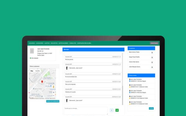 Aplicacion web de gestión de dependientes del SAS (Junta de Andalucía)
