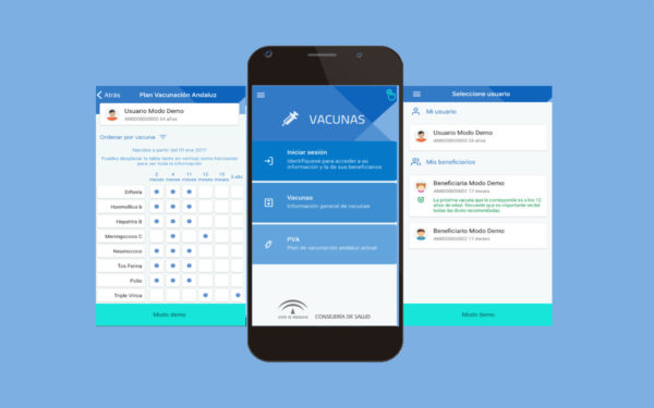 App Vacunas (Junta de Andalucía)
